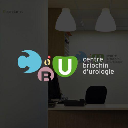 Polyclinique du littoral Saint-Brieuc Centre briochin d'urologie — identité visuelle — logotype