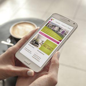 Résidence de Keranno Site internet mobile — webdesign