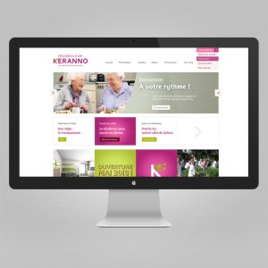 Résidence de Keranno Site internet — webdesign