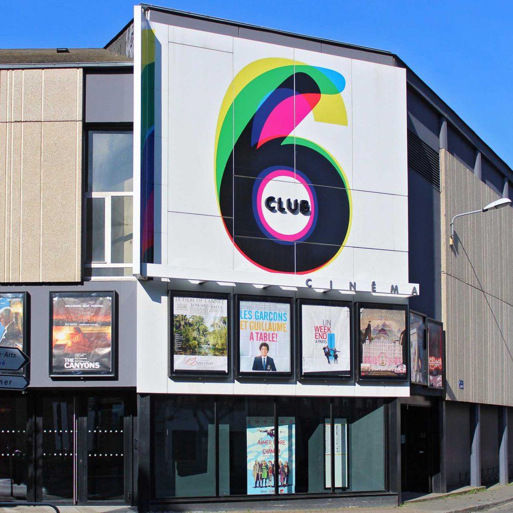 Cinéma Club6 Identité visuelle