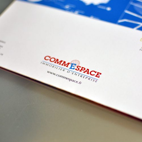 Commespace Brochure Centre d'affaires Carnot — édition — mise en page