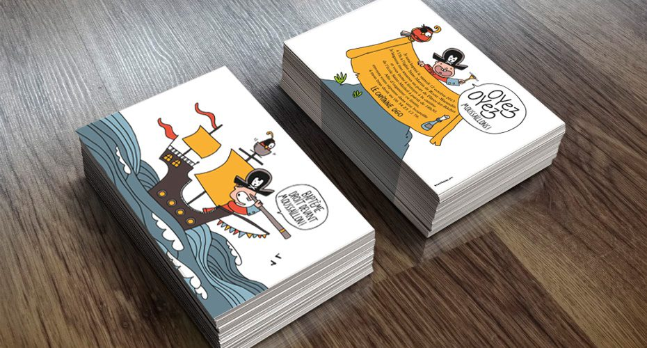 Cartons d'invitation Baptème — illustration