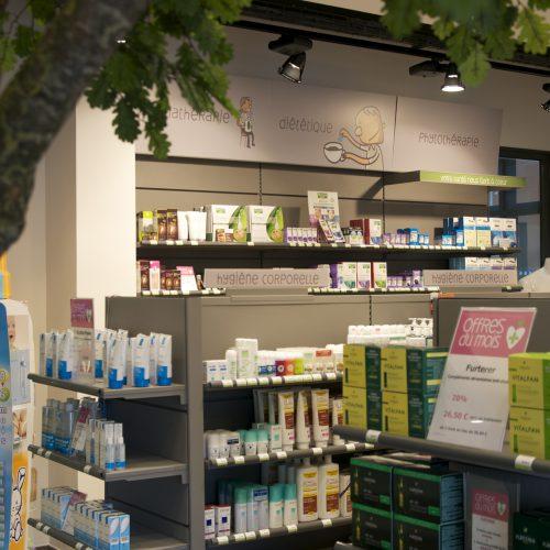 Pharmacie Saint-Nicolas Identité visuelle — signalétique