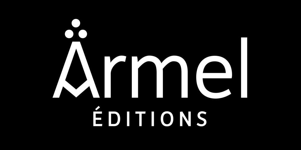 Armel éditions Identité visuelle— logotype