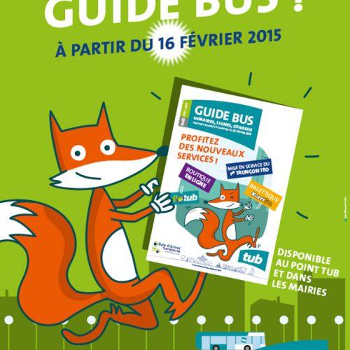 Baie d'Armor Transport Nouveau guide bus —— campagne d'affichage