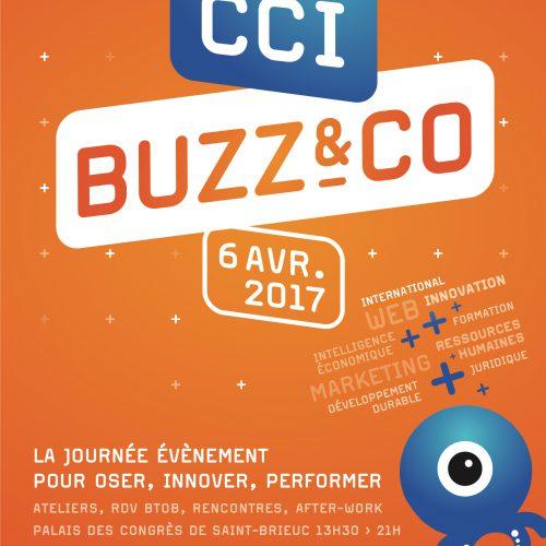 CCI Côtes d'Armor BUZZ & CO — Édition — affiche