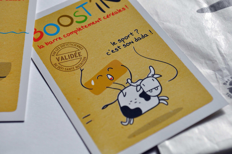 Chambre des métiers des Côtes Armor Boost'in la barre de céréales — identité visuelle — carte