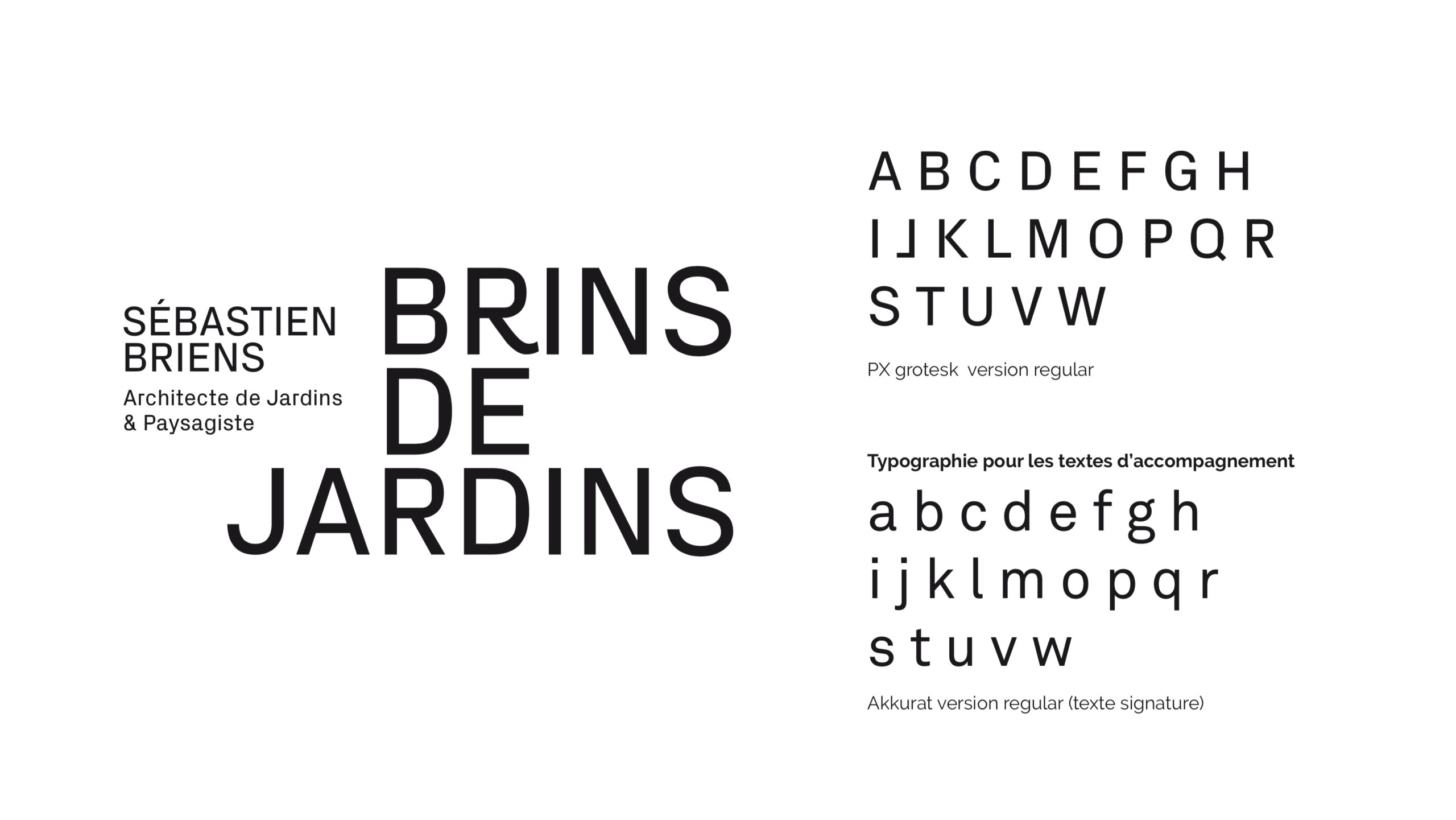 Briens Architecte Paysagiste Identite Visuelle Logotype Charte Graphique Scaled
