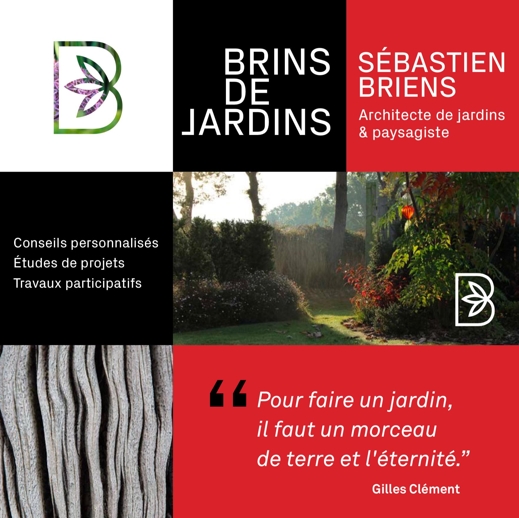 Briens Architecte Paysagiste Identite Visuelle Site Web