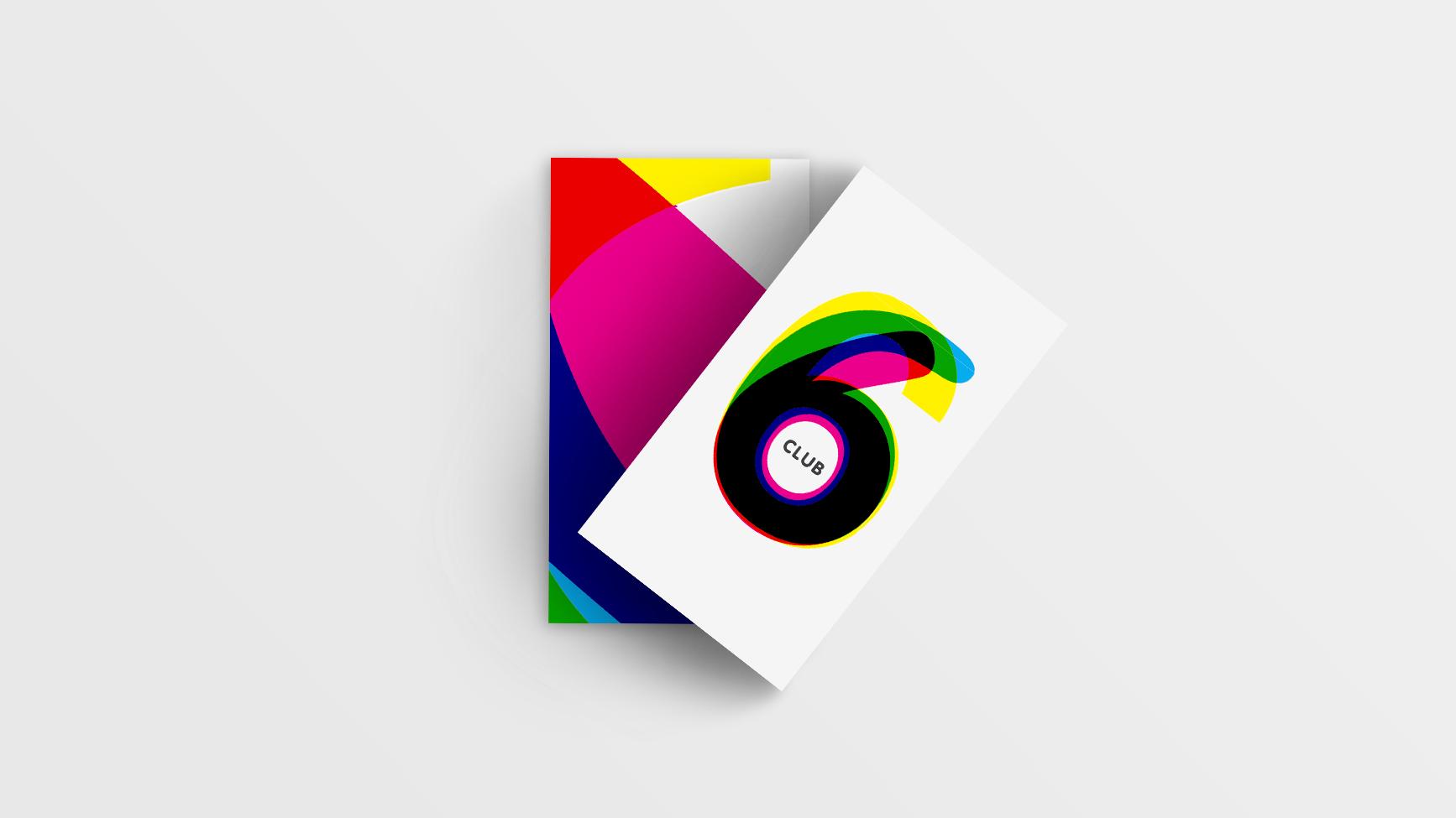 Cinema Club6 Identite Visuelle Logotype Carte Visite