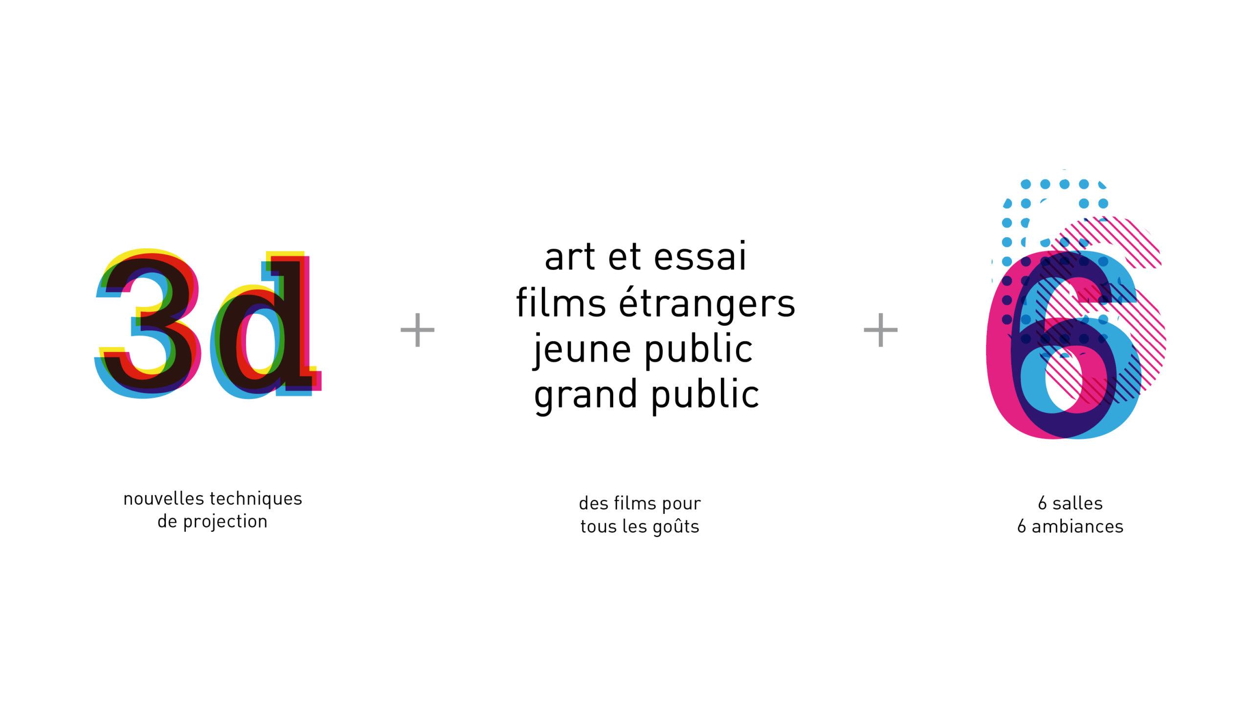 Cinema Club6 Identite Visuelle Logotype Concept Scaled