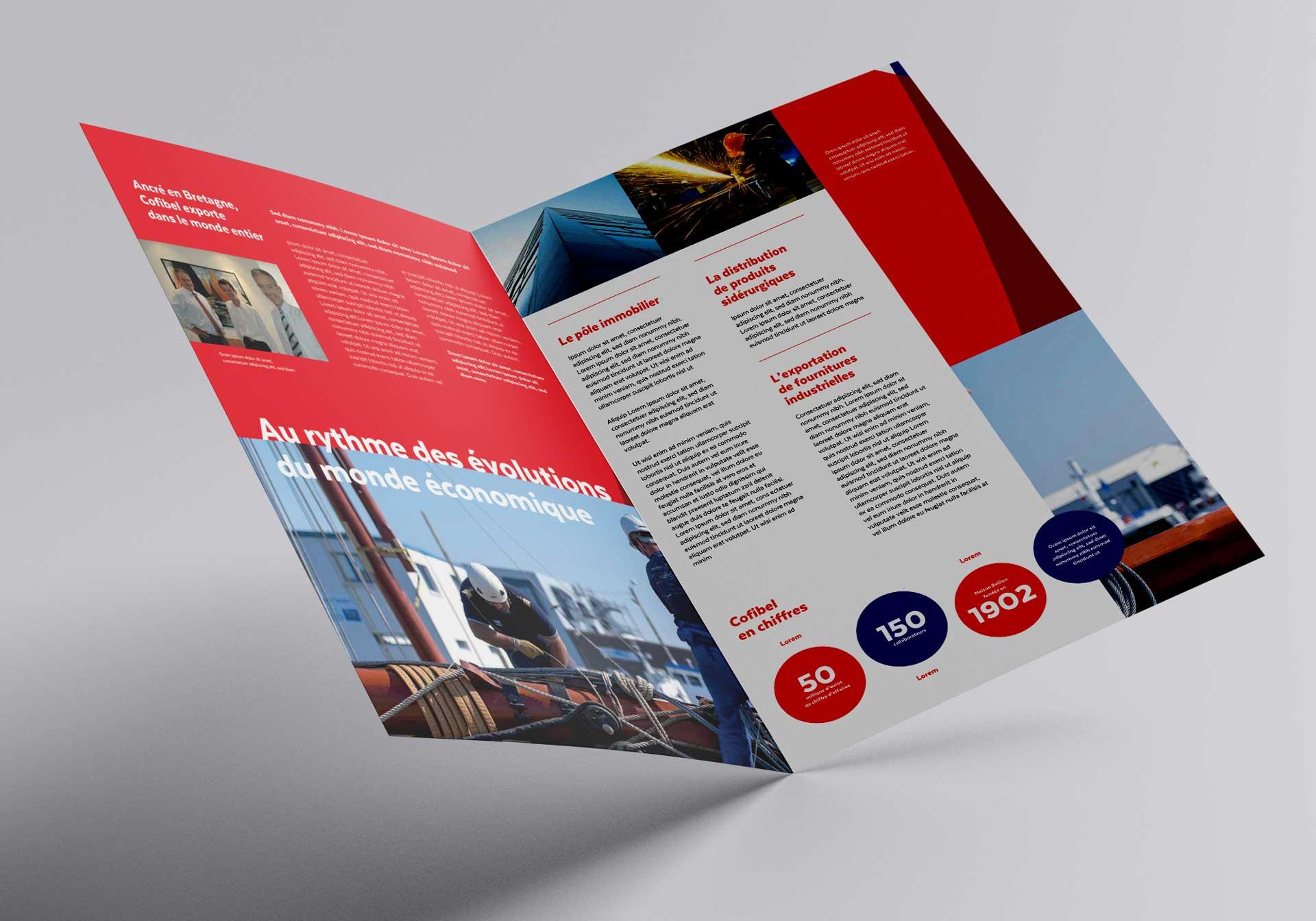 Cofibel Identite Visuelle Charte Graphique Brochure