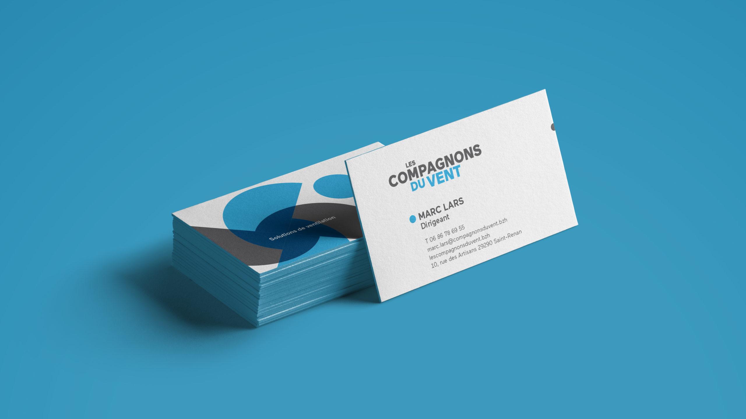 Compagnons Du Vent Identite Visuelle Logotype Carte Visite Scaled