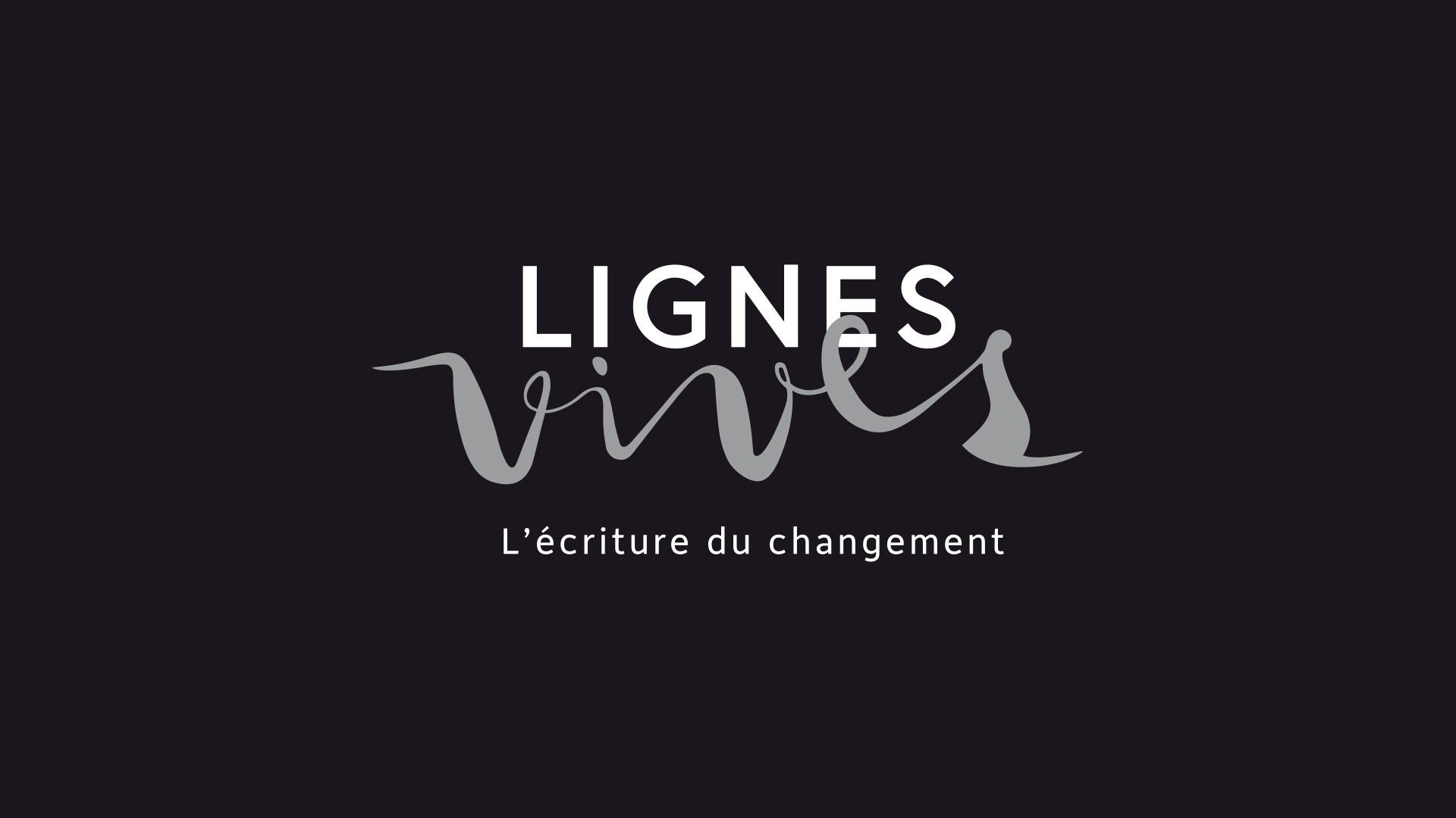Lignes Vives Identite Visuelle Logo