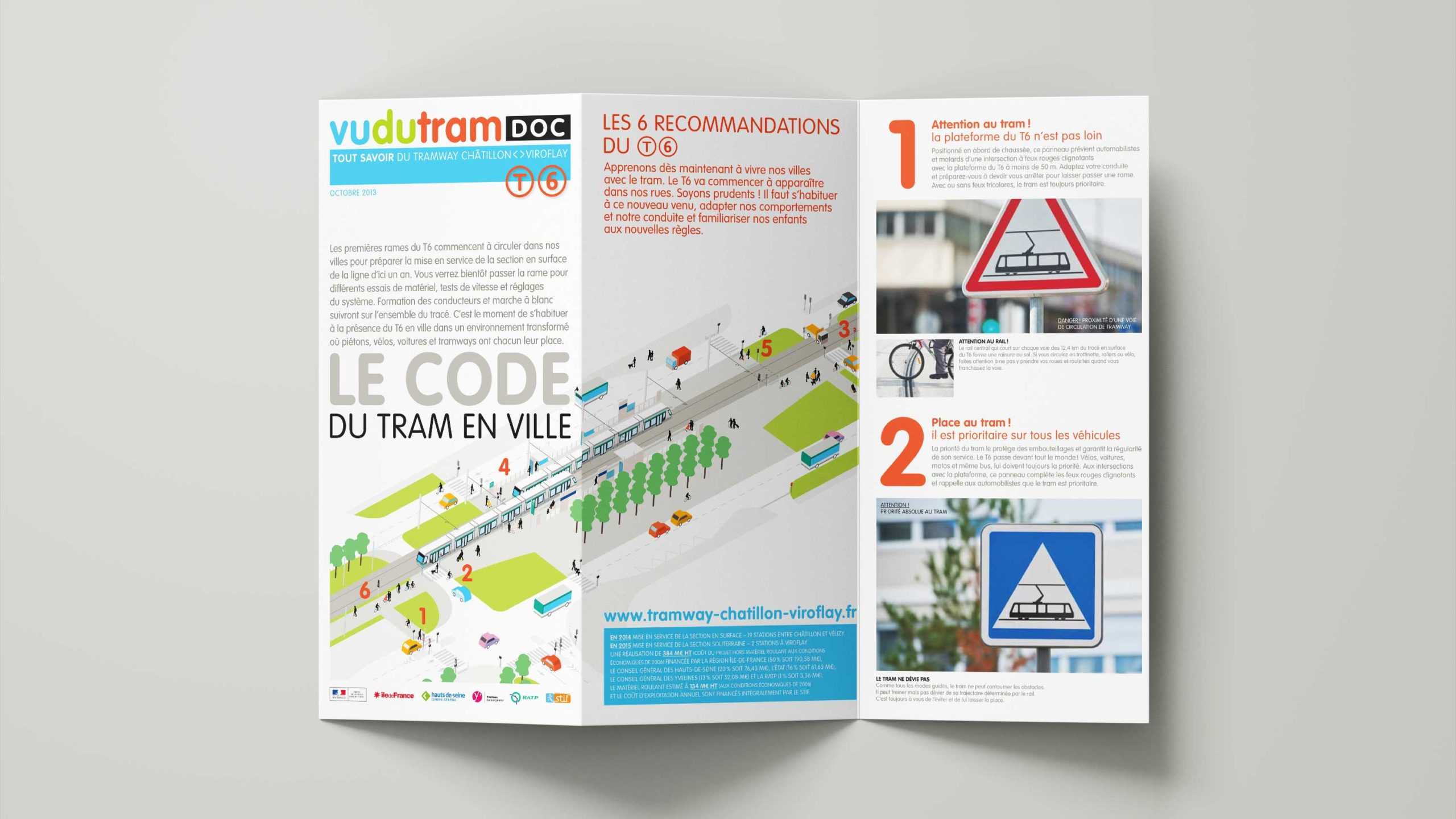Ratp Tramway Deplacement Code Securite Ville Depliant Info Scaled