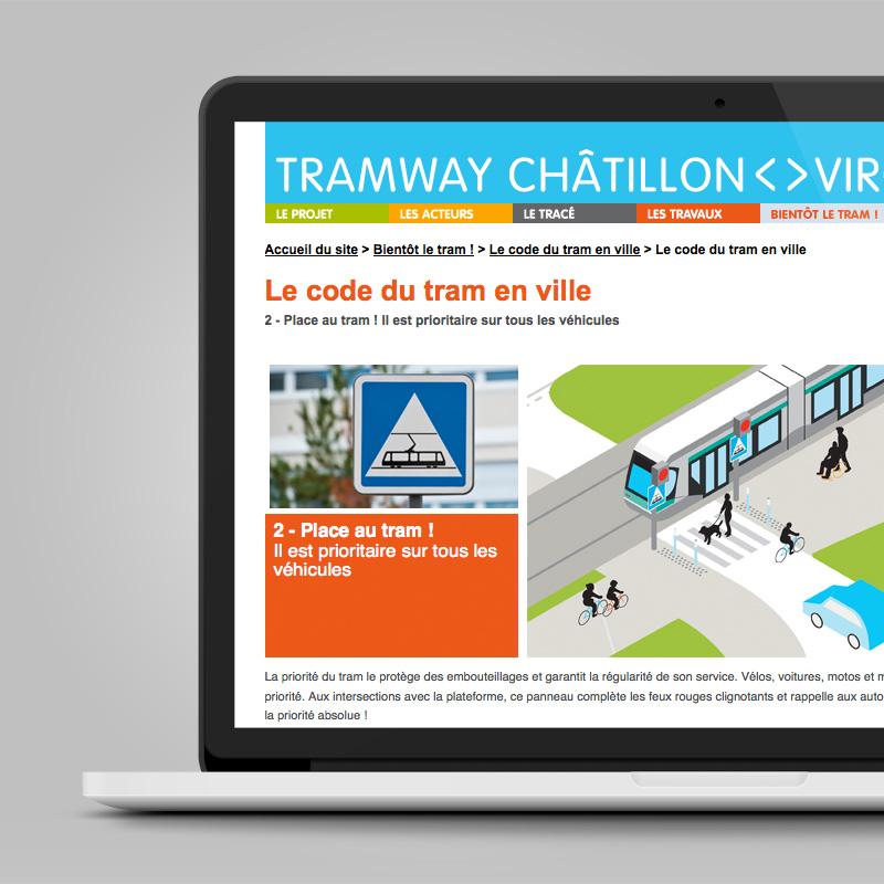 Ratp Tramway Deplacement Code Securite Ville Web