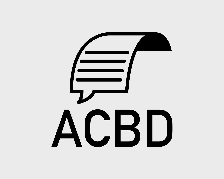 Identite Visuelle Acbd Portefolio Logo Arnaud Chauvel Graphiste