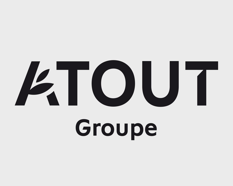 Identite Visuelle Atout Groupe Portefolio Logo Arnaud Chauvel Graphiste