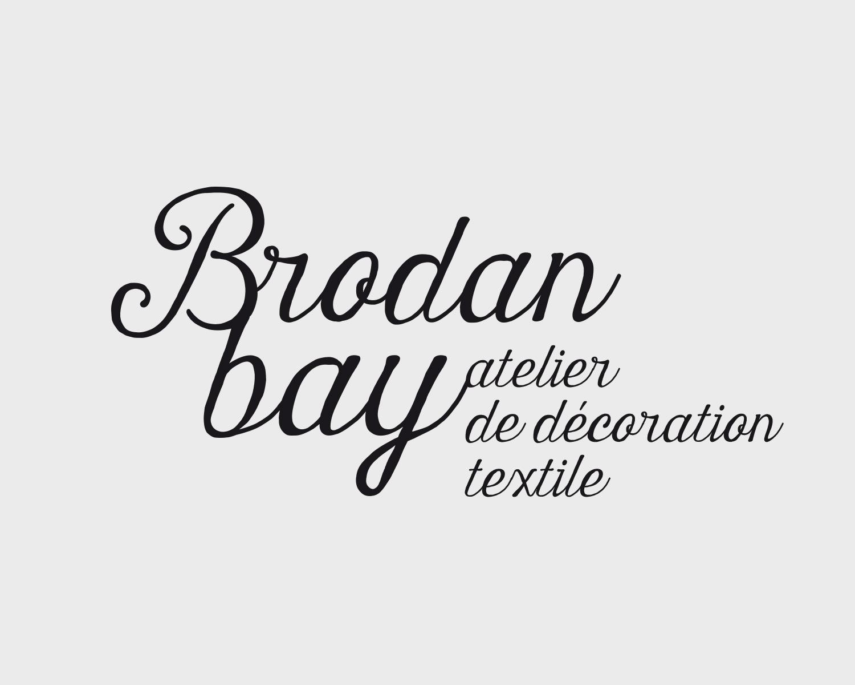 Identite Visuelle Brodan Bay Portefolio Logo Arnaud Chauvel Graphiste