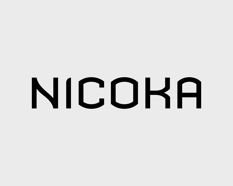 Identite Visuelle Nicoka Portefolio Logo Arnaud Chauvel Graphiste