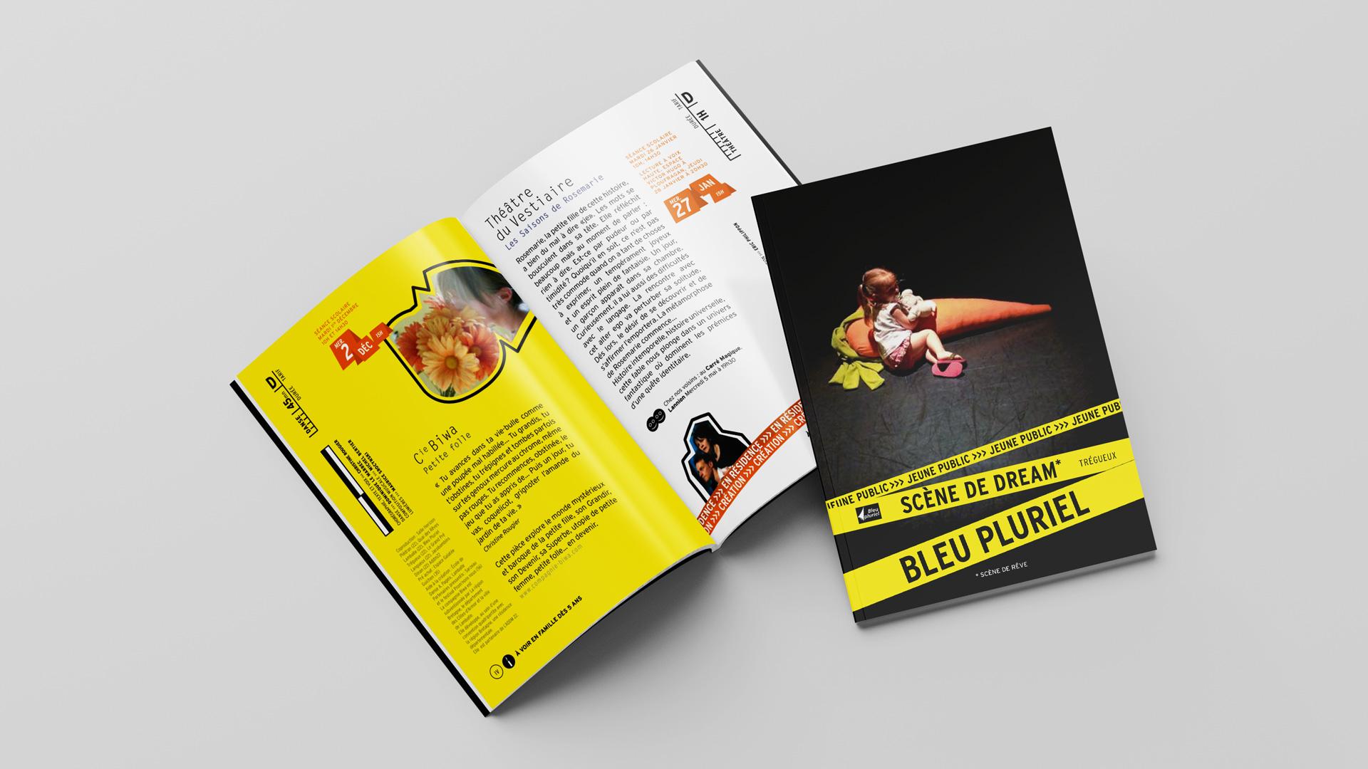 Bleu Pluriel Culturel Programme Spectacle Enfant Saison Brochure