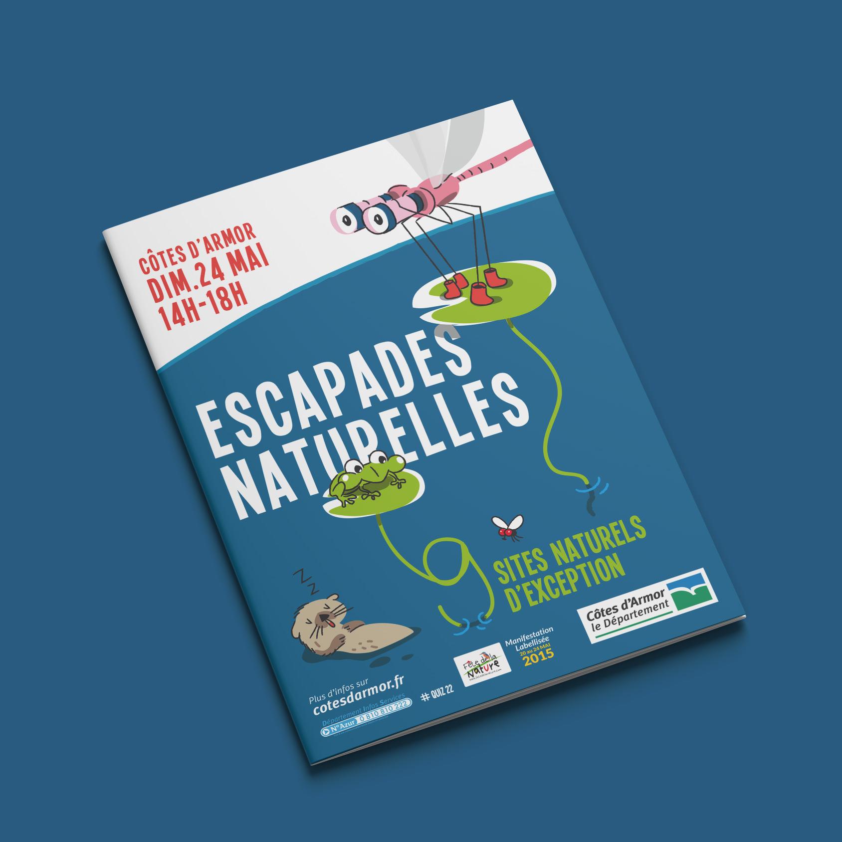 Conseil Departemental 22 Edition Brochure Fete Nature Couverture