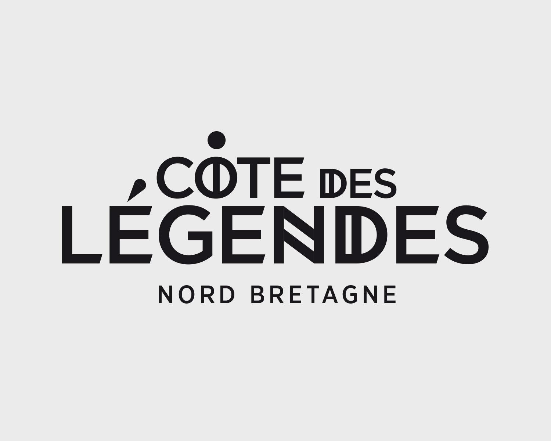 Identite Visuelle Cote Legendes Portefolio Logo Arnaud Chauvel Graphiste