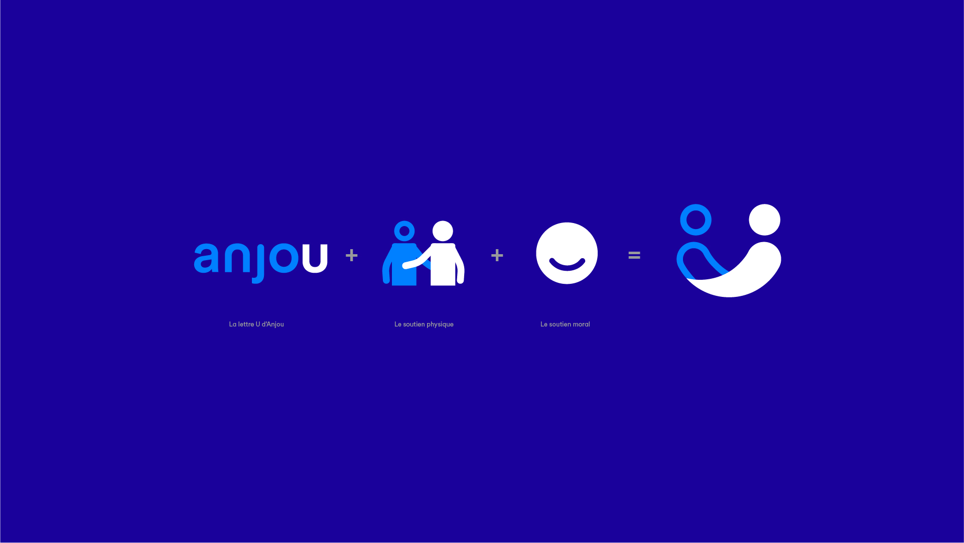 Anjou Accompagnement Association Identite Visuelle Logotype Concept