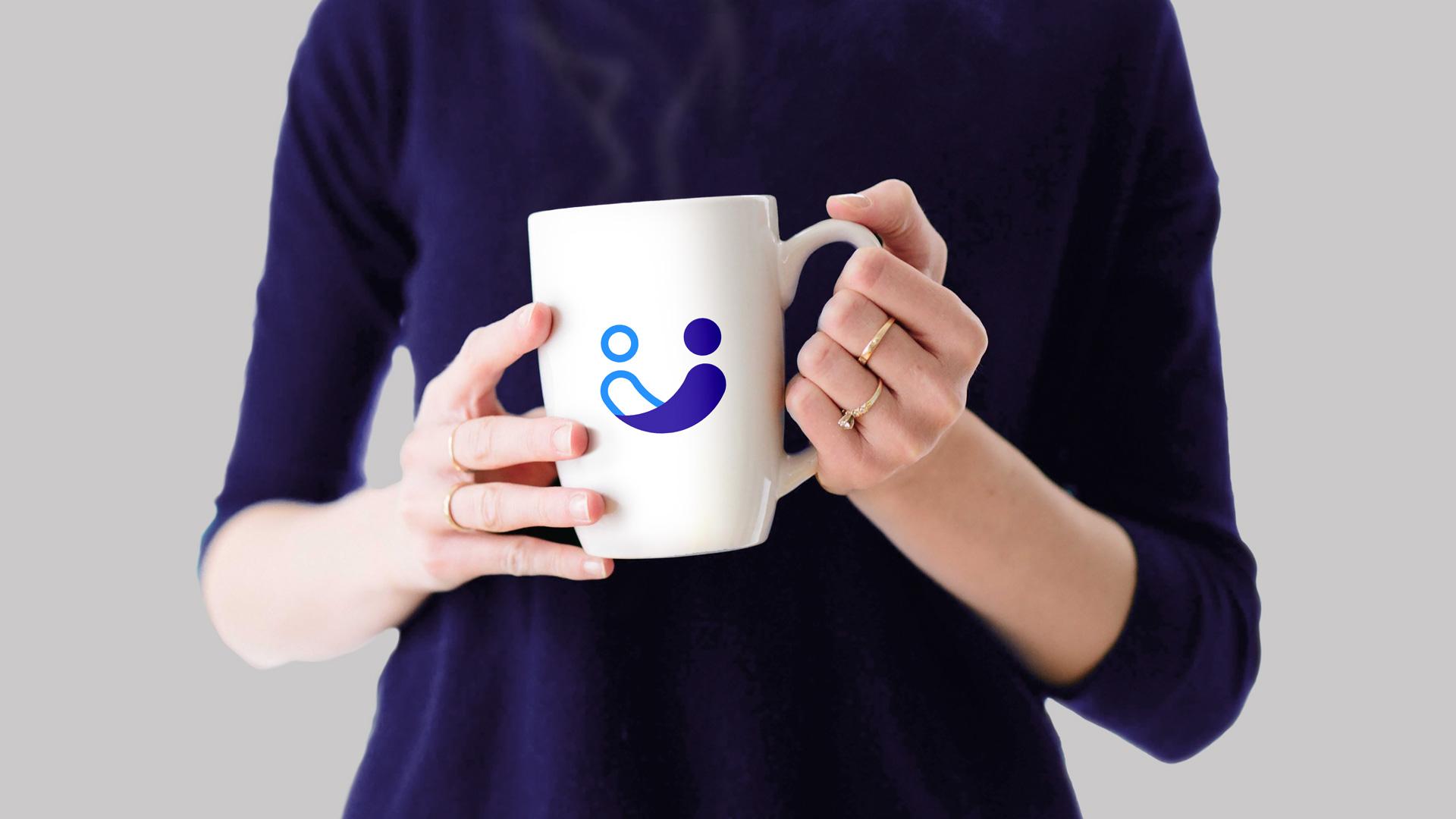 Anjou Accompagnement Association Identite Visuelle Logotype Mug