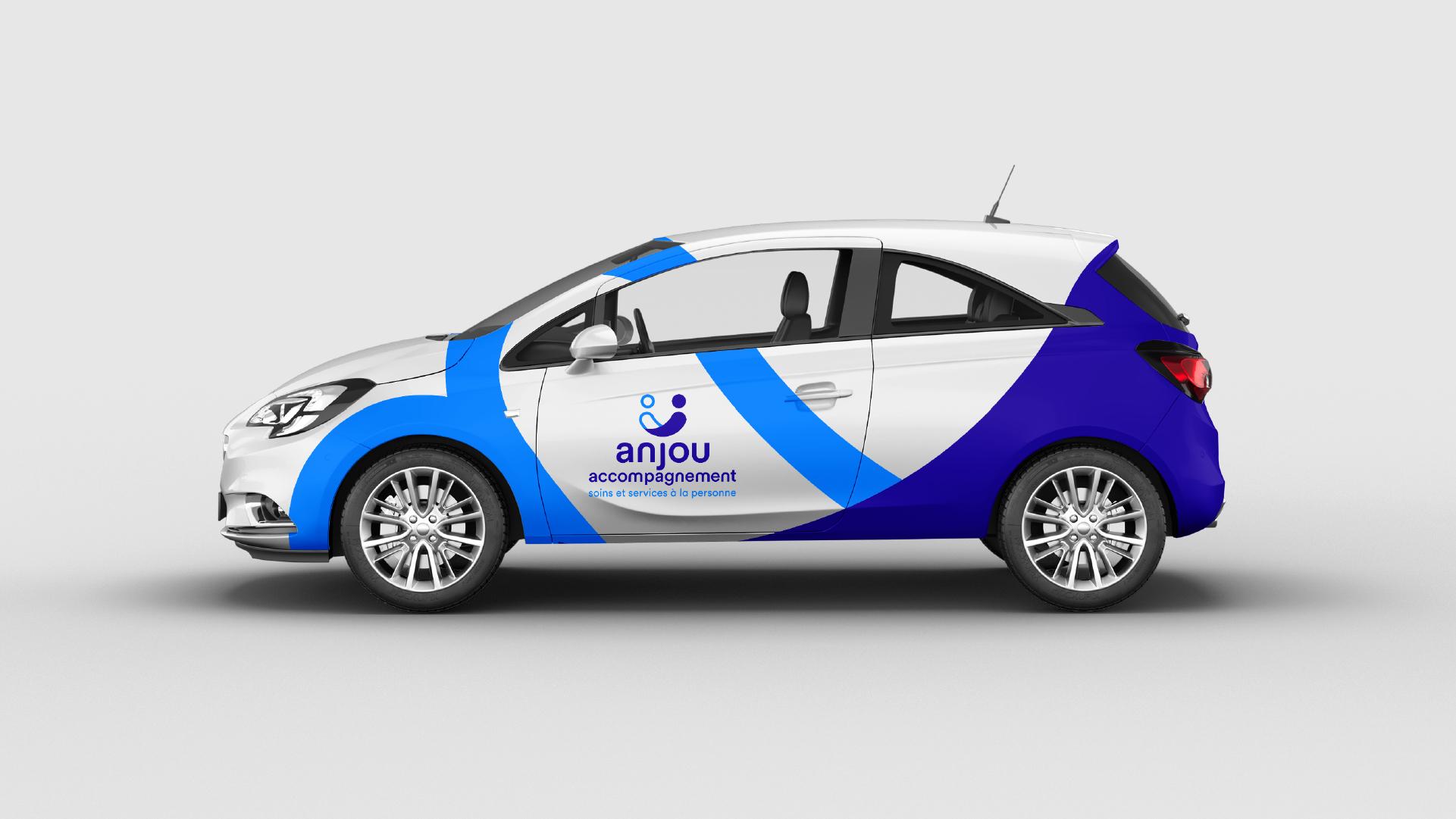 Anjou Accompagnement Association Identite Visuelle Signaletique Marquage Vehicule