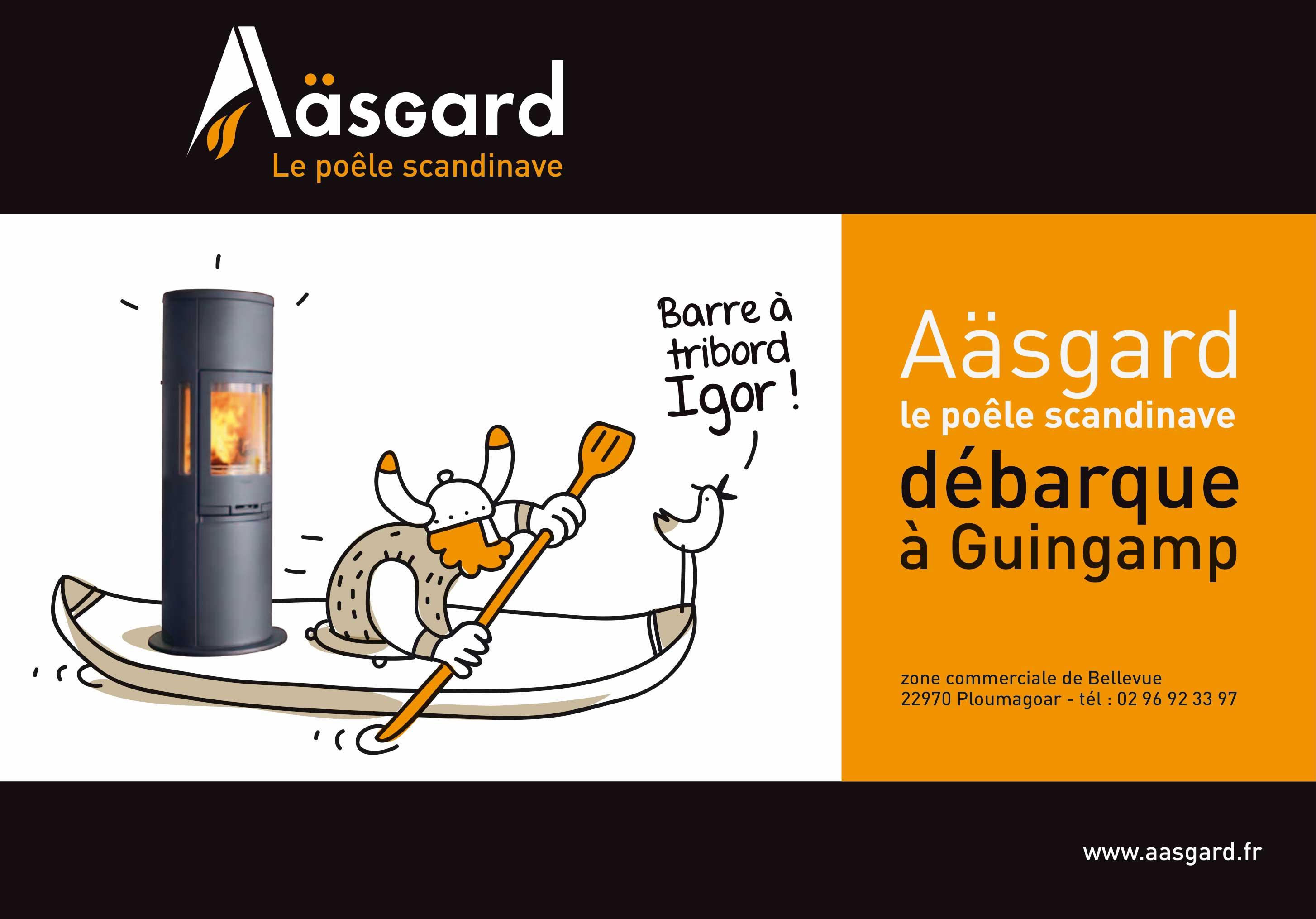 Aasgard Guingamp Affiche